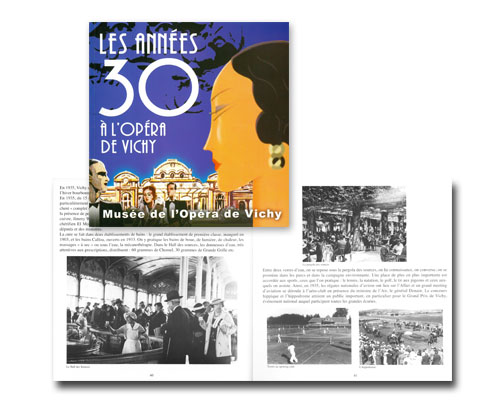 2010 Catalogue Les années 30 à l'Opéra de Vichy