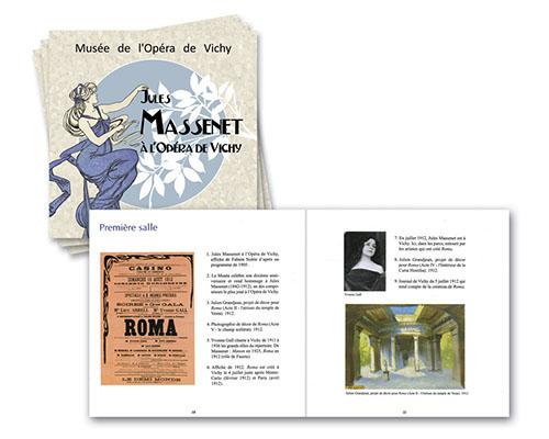 2012 Catalogue Jules Massenet à l'Opéra de Vichy