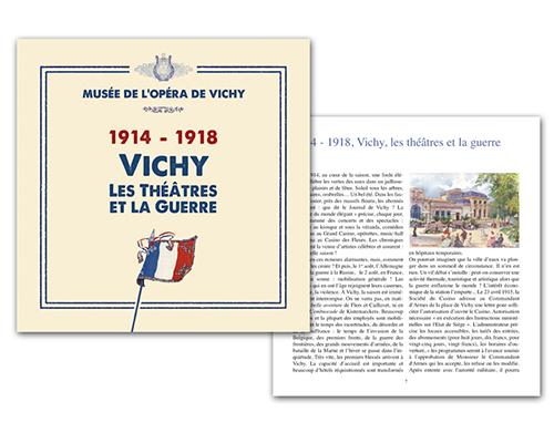 2014 Catalogue 1914-1918 Vichy, les théâtres et la guerre