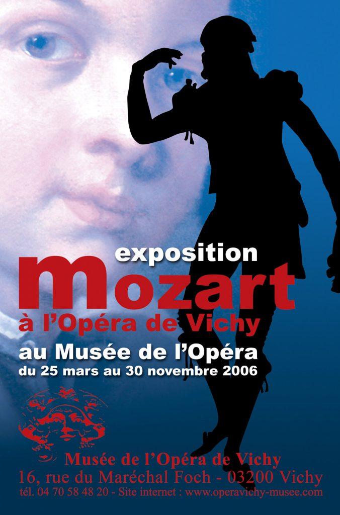 Exposition 2006 Mozart à l'Opéra de Vichy - affiche