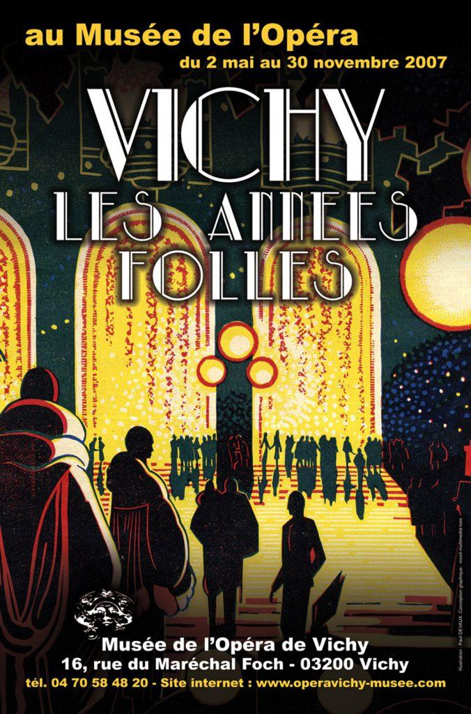 Exposition 2007 Vichy, les années folles... 1920-1929 - affiche