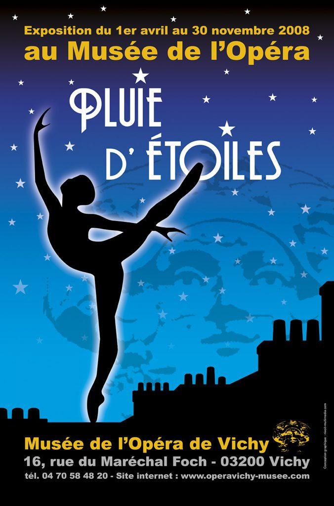 Exposition 2008 Pluie d'Étoiles - affiche