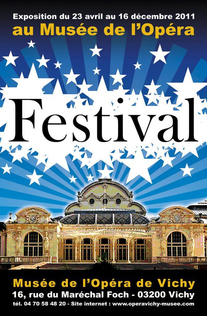 Exposition 2011 Festival - affiche