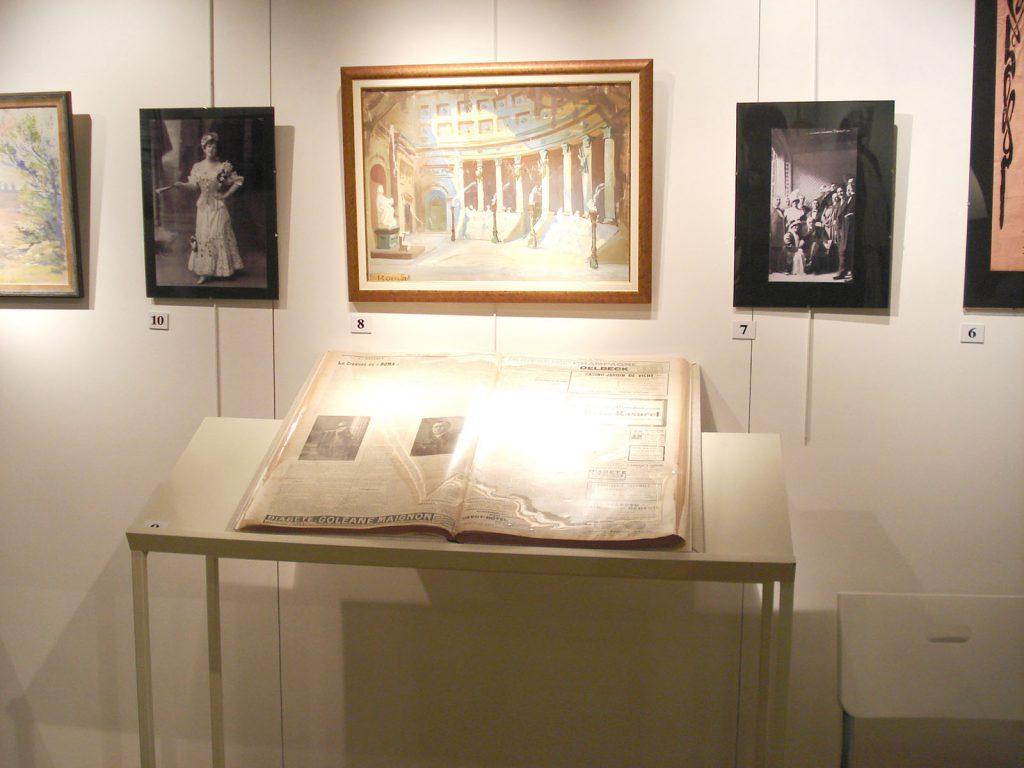 Exposition 2012 Jules Massenet à l'Opéra de Vichy - image 8