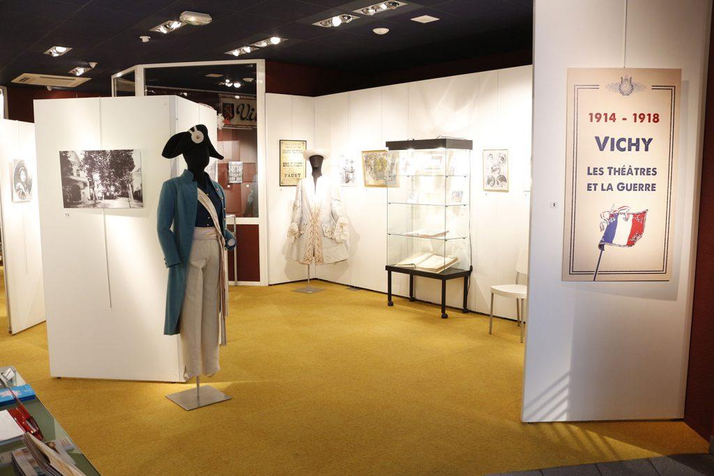 Exposition 2014 Vichy, les théâtres et la guerre 1901-1914 - image 1