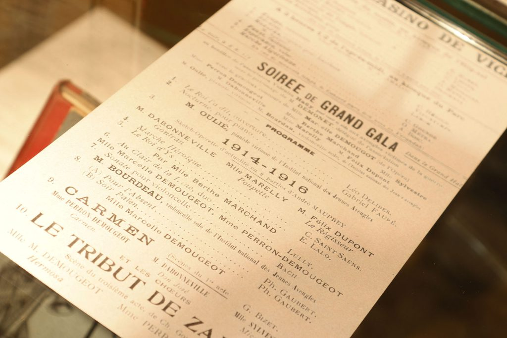 Exposition 2014 Vichy, les théâtres et la guerre 1901-1914 - image 11