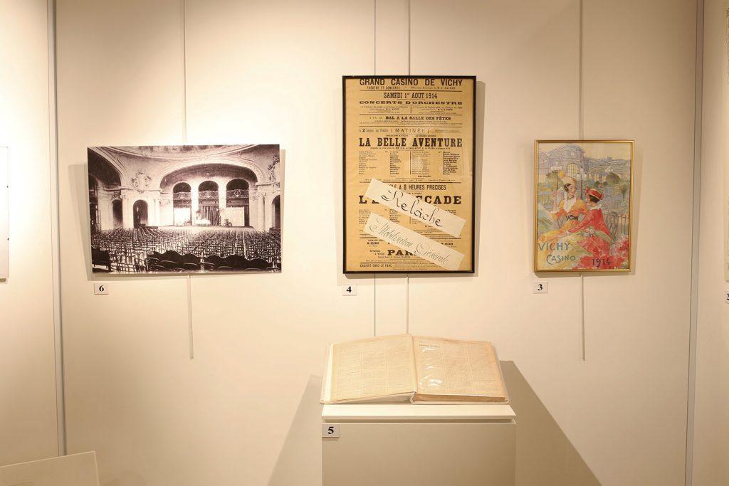 Exposition 2014 Vichy, les théâtres et la guerre 1901-1914 - image 3