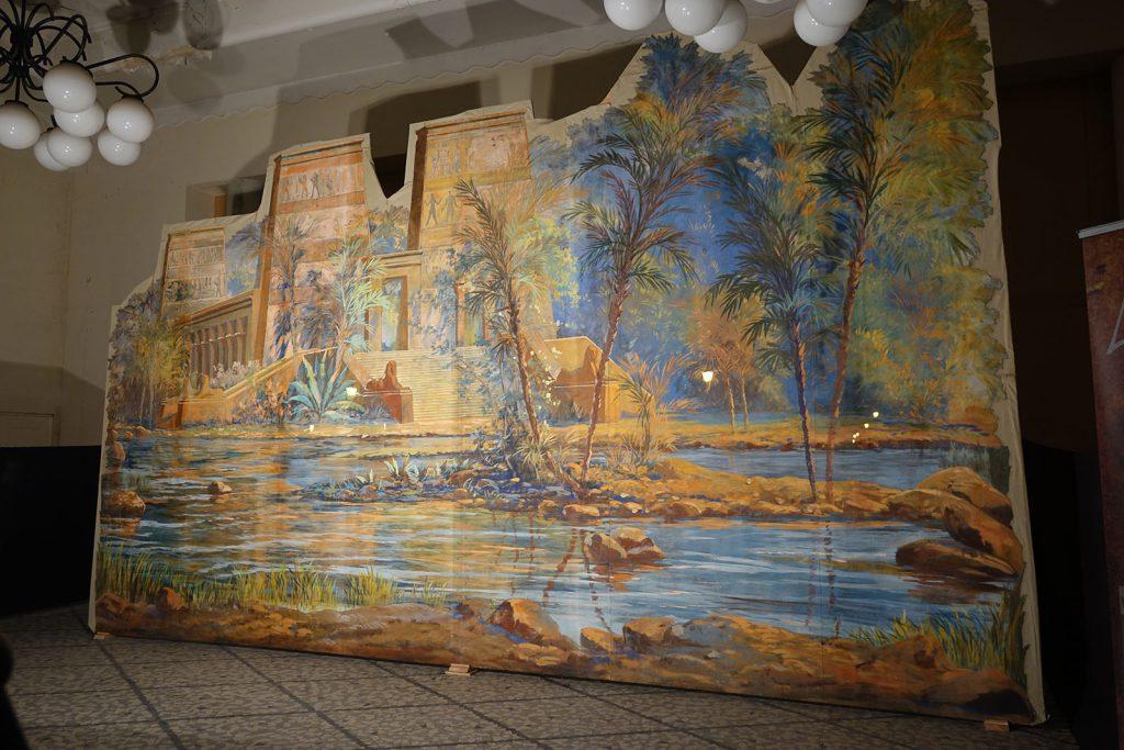 Exposition 2016 Décors d'Aïda dans la Galerie Napoléon III - image 5