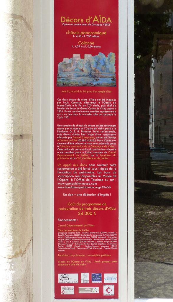 Exposition 2016 Décors d'Aïda dans la Galerie Napoléon III - image 3