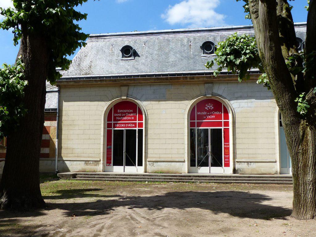 Exposition 2016 Décors d'Aïda dans la Galerie Napoléon III - image 2