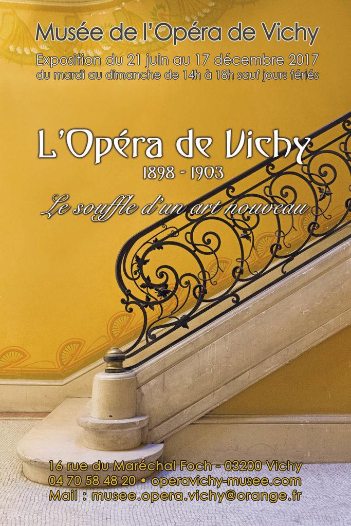 L'Opéra de Vichy, 1898-1903, le souffle d'un art nouveau