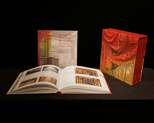 Catalogue raisonné des décors de scène de l'Opéra de Vichy