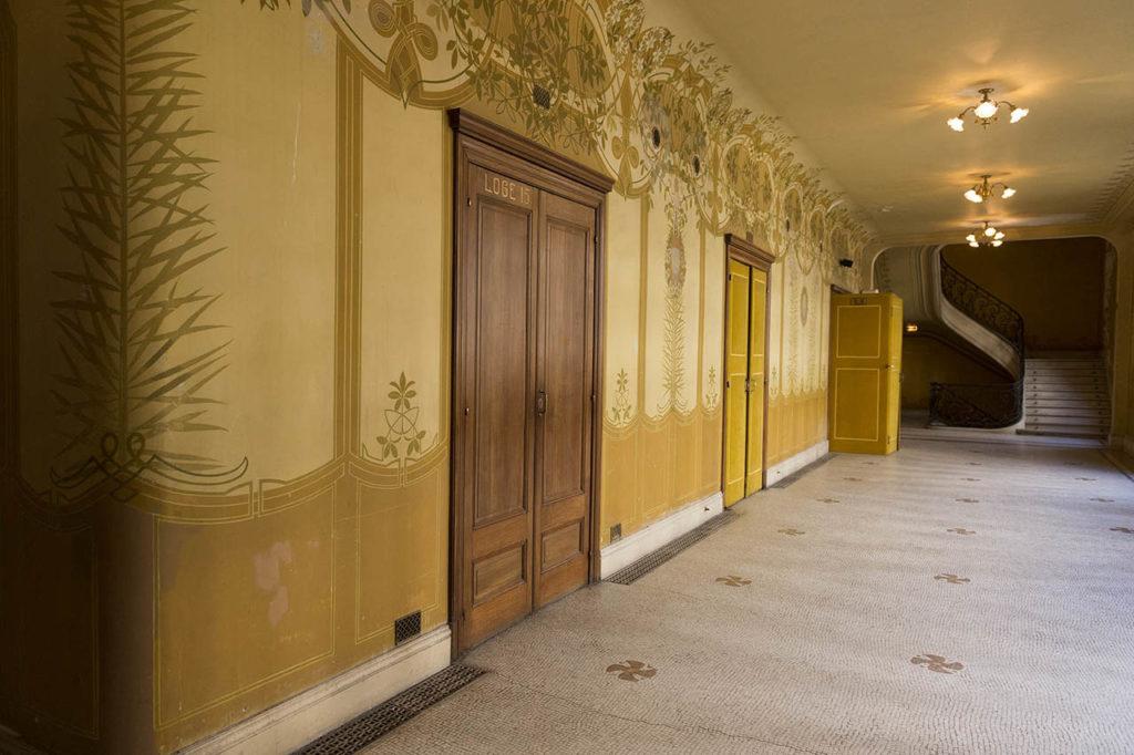 L'Opéra de Vichy - galerie du rez-de-chaussée