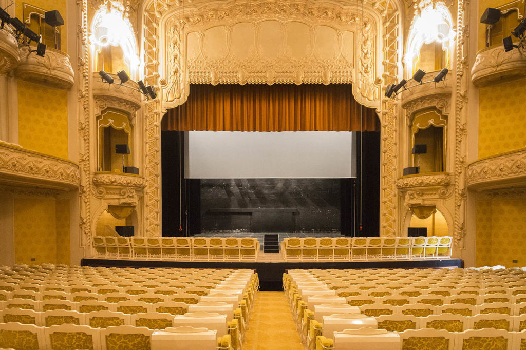 L'Opéra de Vichy - la salle de théâtre