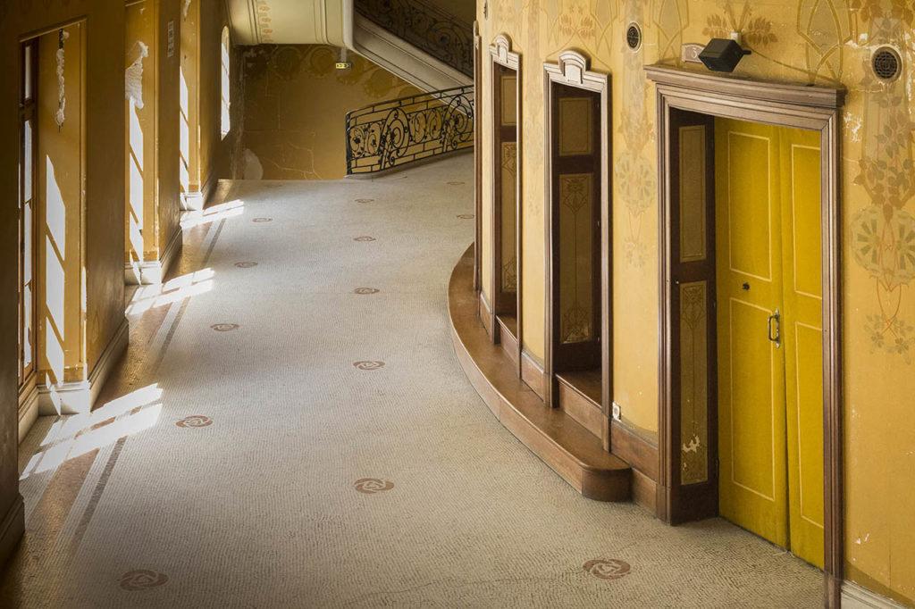 L'Opéra de Vichy - galerie au premier balcon
