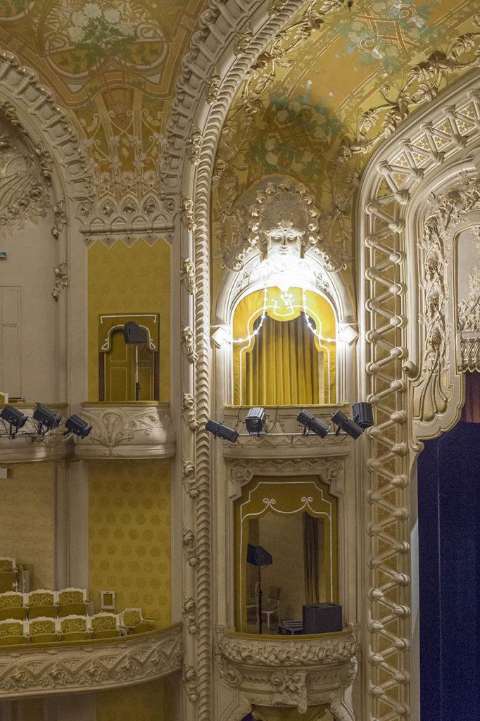 L'Opéra de Vichy - loge d'avant-scène de la salle de théâtre