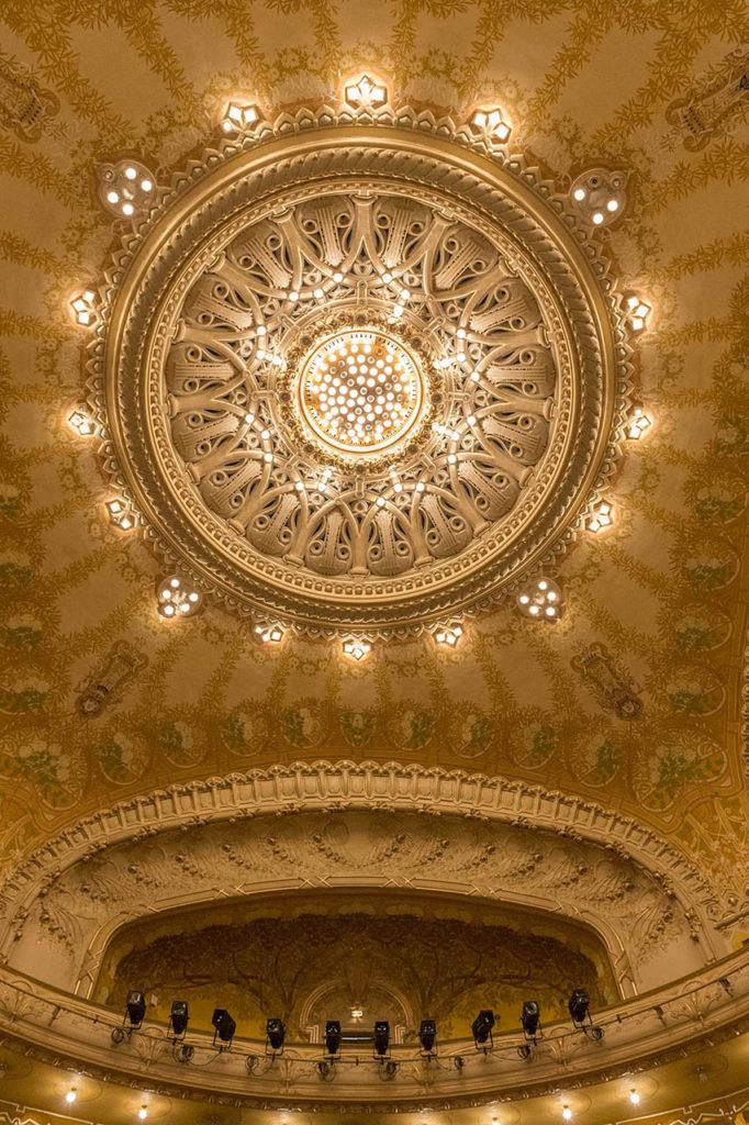 L'Opéra de Vichy - la coupole lumineuse