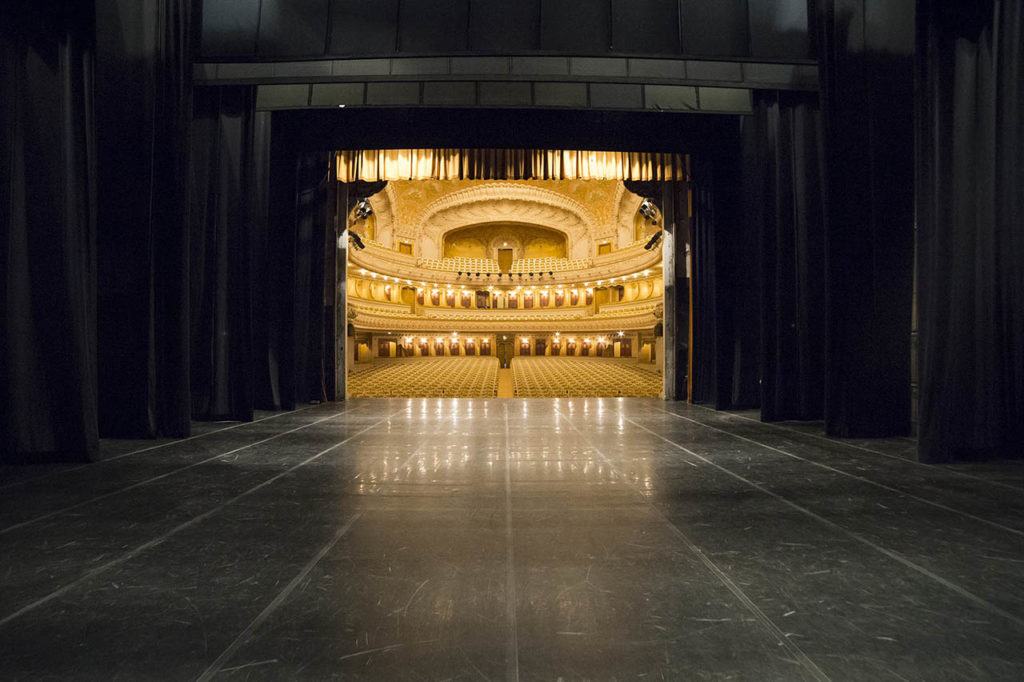 L'Opéra de Vichy - la scène