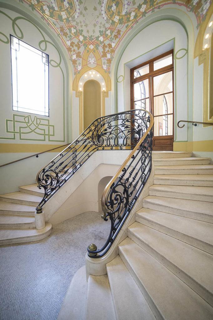 L'Opéra de Vichy - vestibule d'entrée