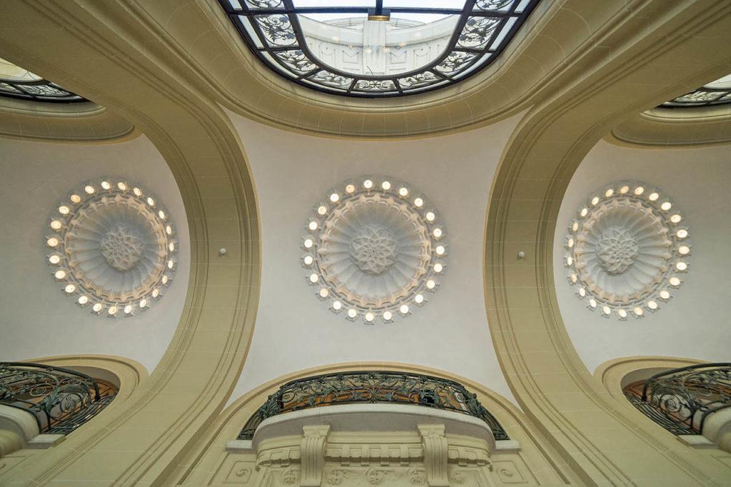 L'Opéra de Vichy - le hall d'accueil